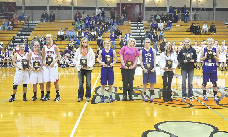 2013 All district girls
