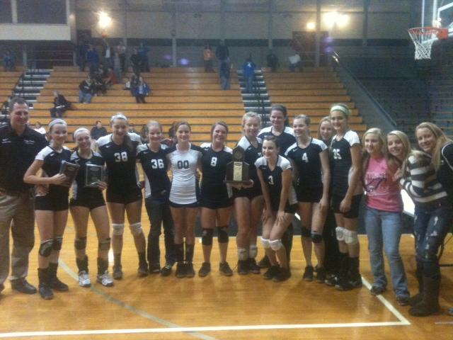 Volleyball winners